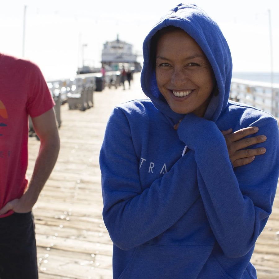 Traveler Malibu Pullover Hoodie - Heather Royal