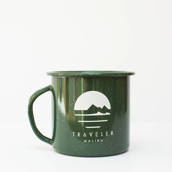 Traveler Enamel Camp Cups