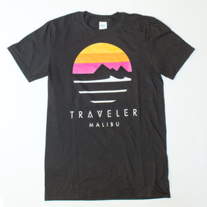Traveler Logo Crewneck Tee - Black