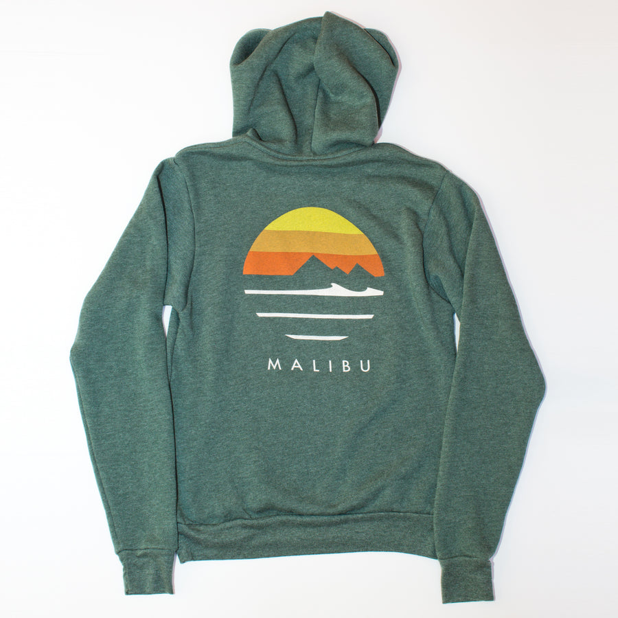 Traveler Malibu Pullover Hoodie - Heather Forest