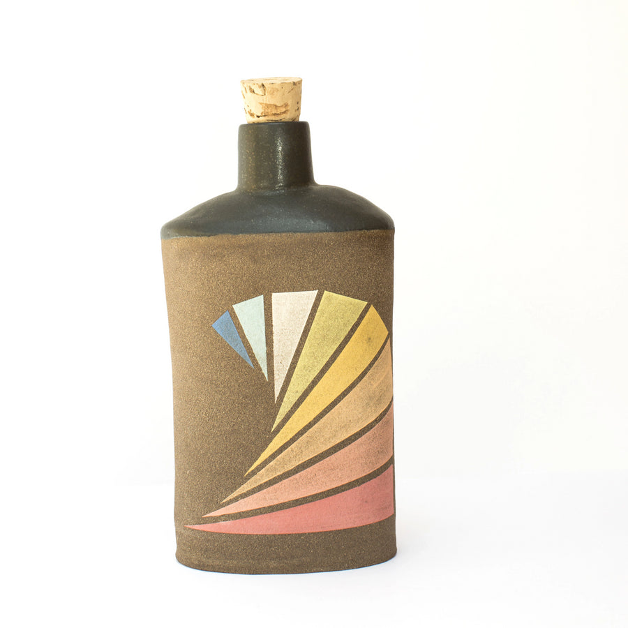 Daniel George Ceramic Flask