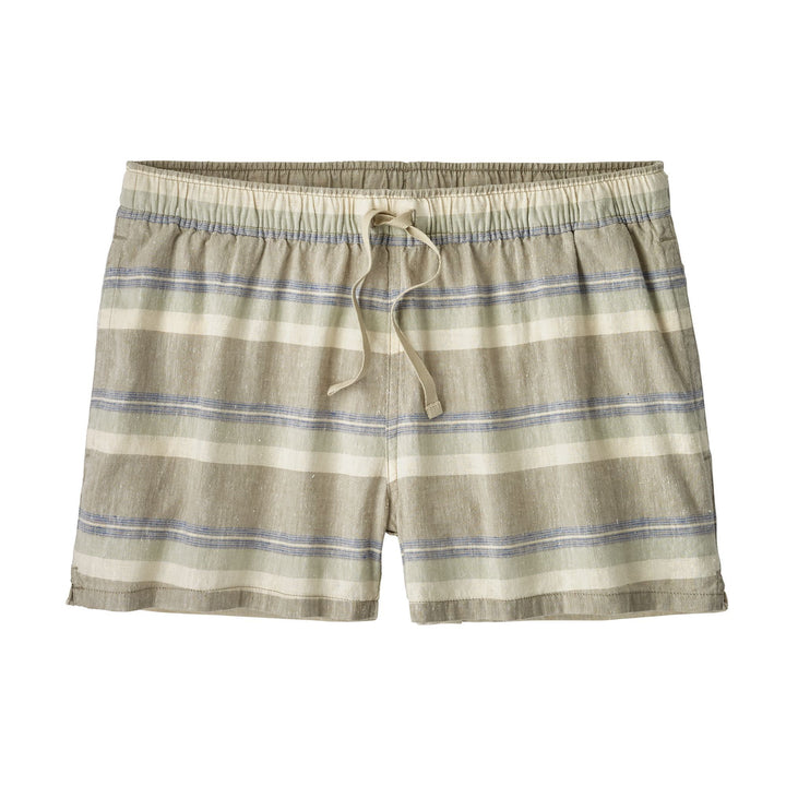 Women's Island Hemp Baggies - Shoreline Stripe