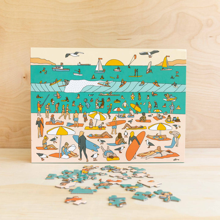 Opening Day Surf Puzzle