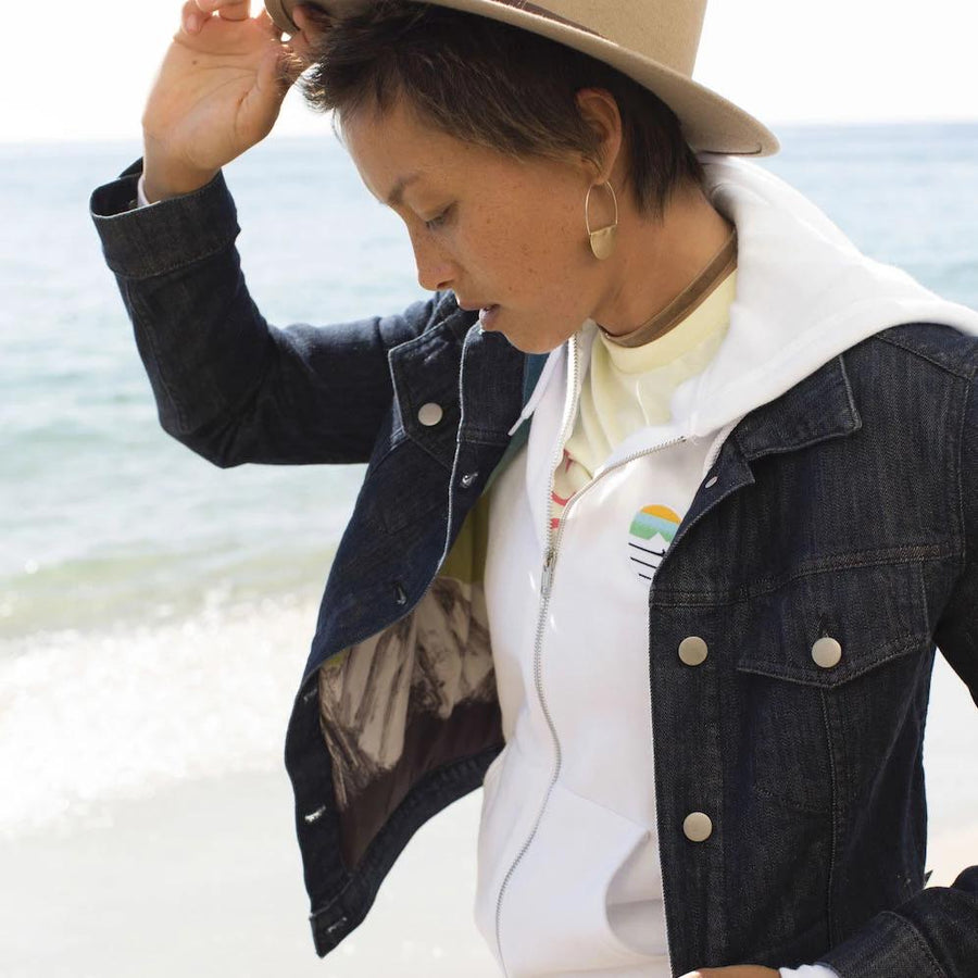 Silver Lining Women's Denim Jacket