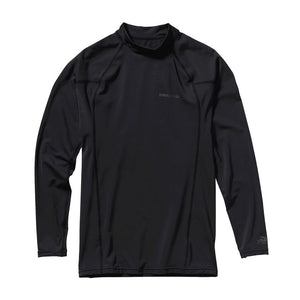 Men's Long-Sleeved Rashguard - Black