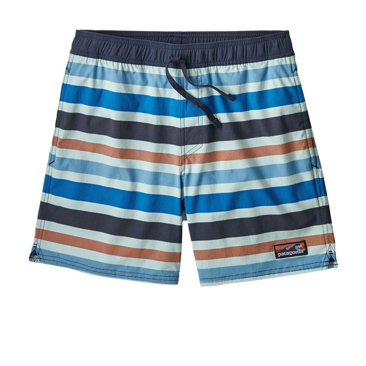Men's Stretch Volley Shorts - Atoll Blue Stripe
