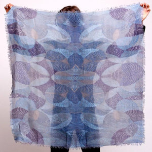 Silver Lining Crash Scarf