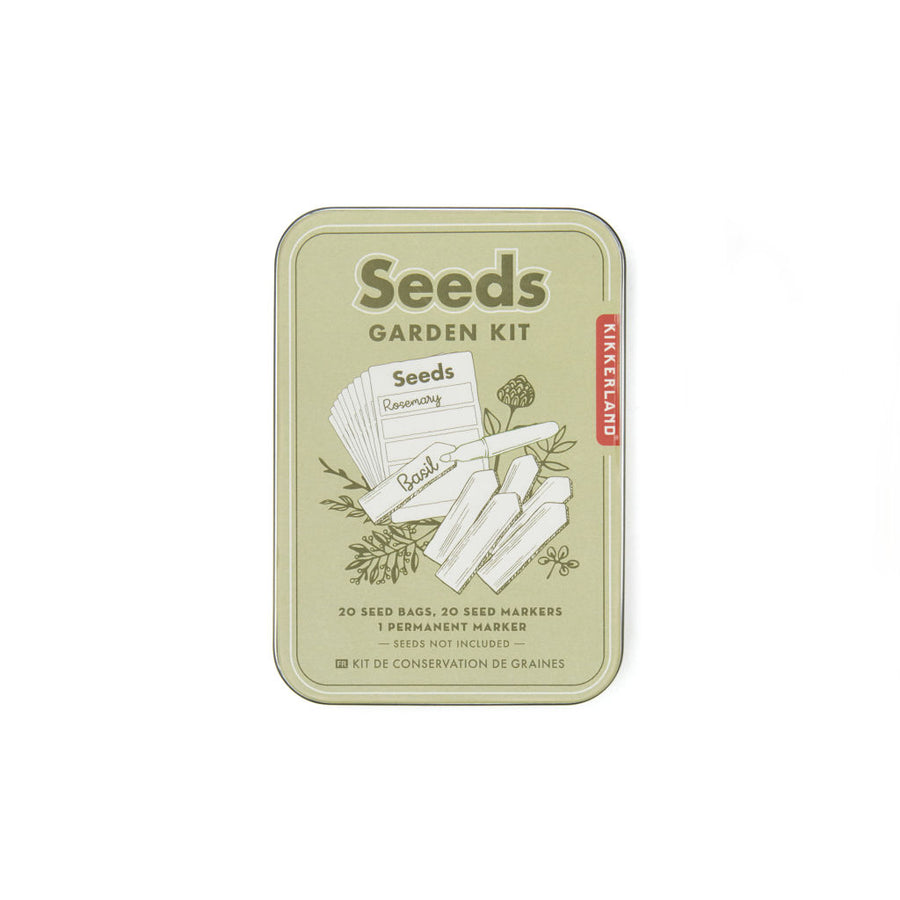 Garden Seed Saving Kit