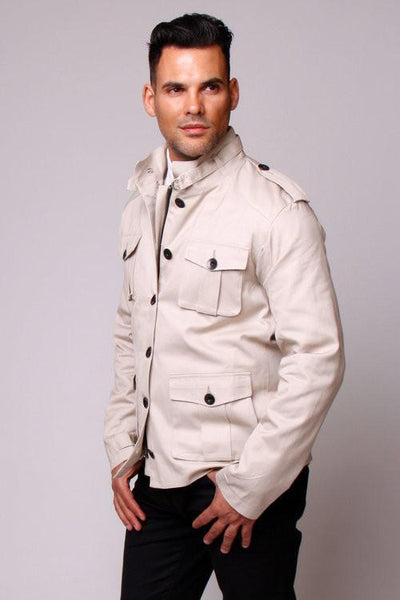 Carline Field Coat - Stone Twill