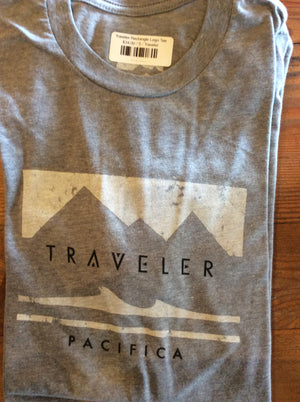Traveler Rectangle Pacifica Logo Tee