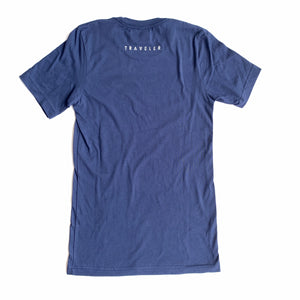 Traveler Pacifica Tee - Navy