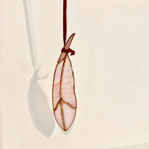 Mini Classic Feather Stained Glass