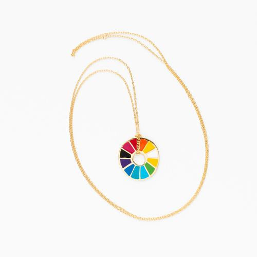 Color Wheel Pendant