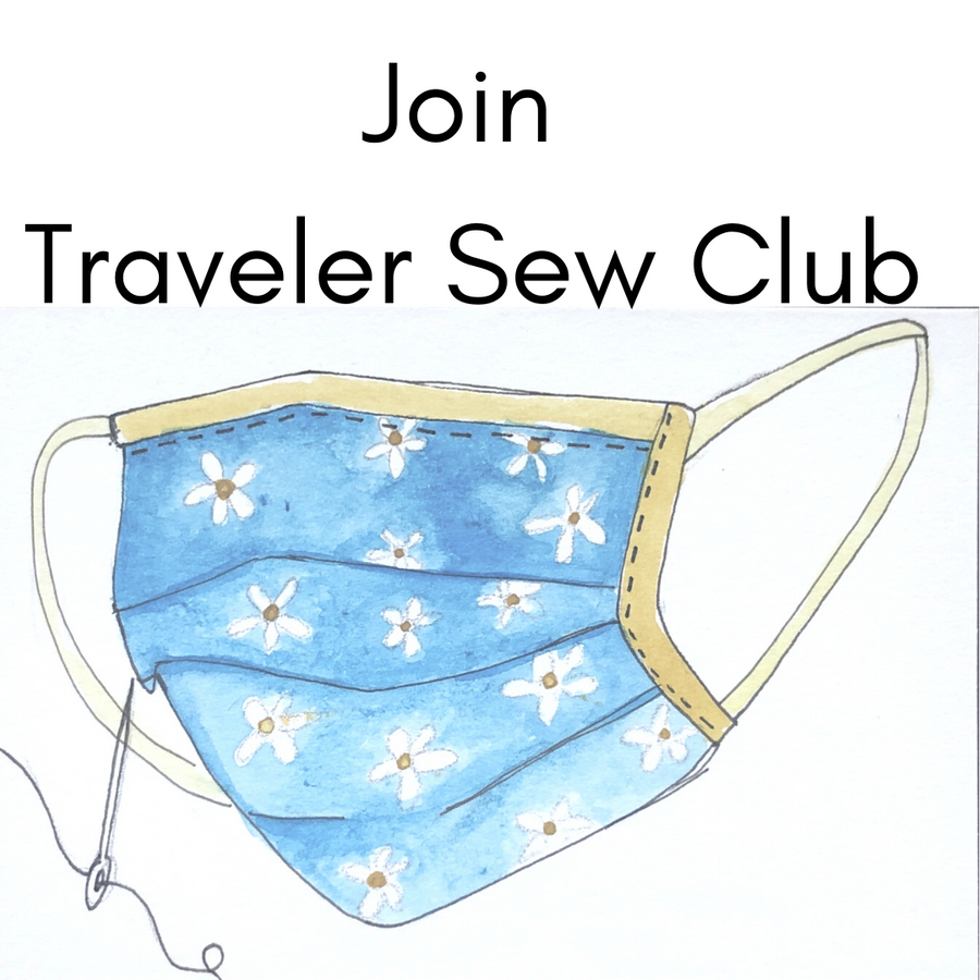 "Traveler ""Sew Club"": Make Your Own Masks to Wear or Donate"