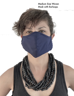Mask Multi Pack: Woven Material w/ Ear Loops- Size Medium