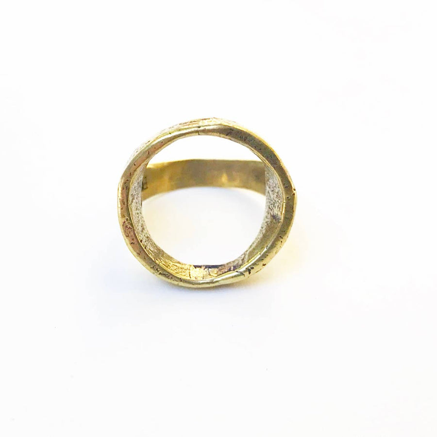 Open Round Top Ring