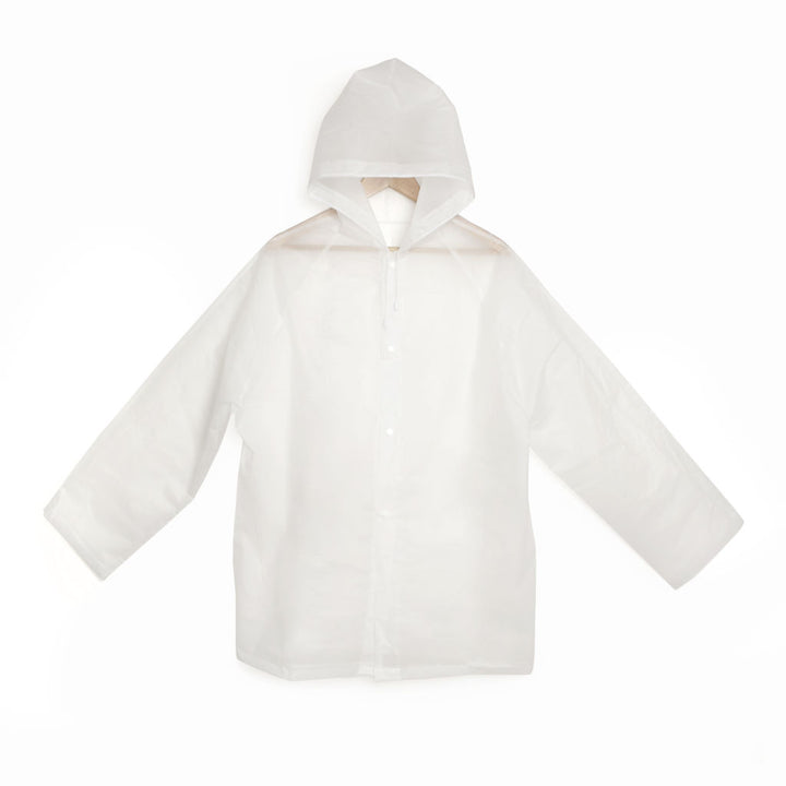 Clear Reusable Compact Raincoat