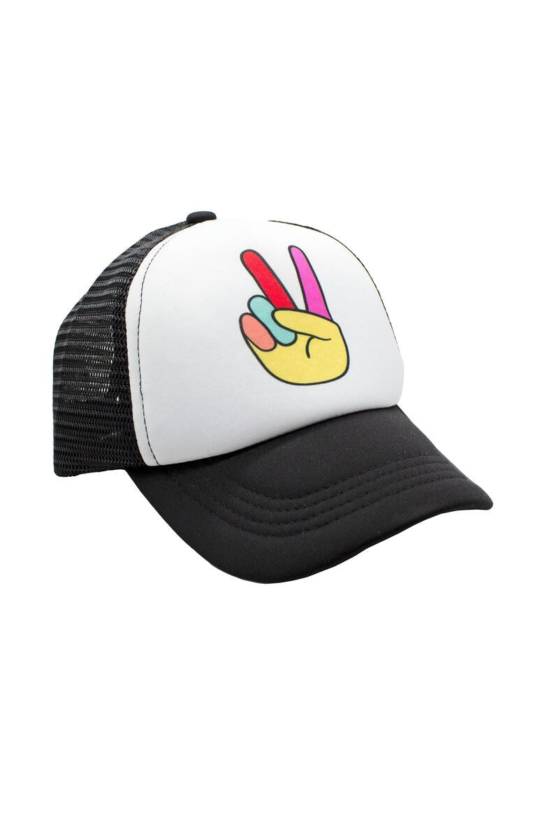Peace Out Kids Hat