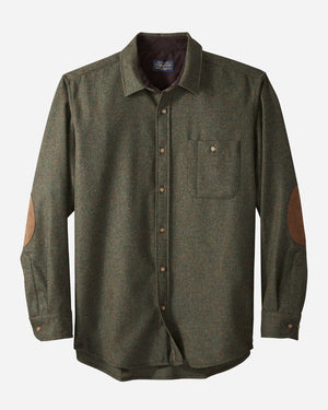 Men's Elbow Patch Trail Shirt - Peat Moss