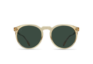 Remmy - Champagne Crystal / Green Polarized