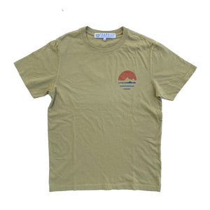 Traveler Logo Tee - Cactus  Made in CA