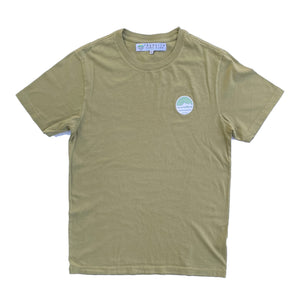 Traveler Patch Tee - Cactus  Made in CA