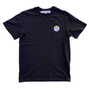 Traveler Patch Tee - Night Surf
