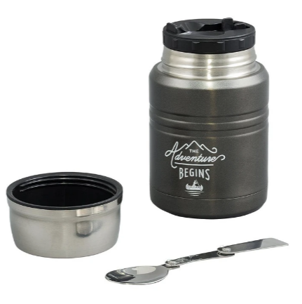 Food Flask with Spoon