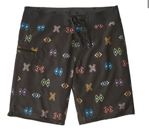 Mens Stretch Planing Board Shorts - Space Spirit