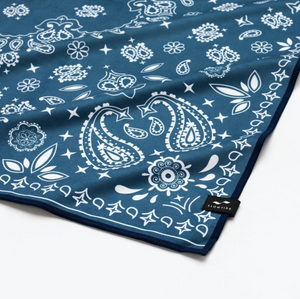 Paisley Park Quick Dry Towel - Blue