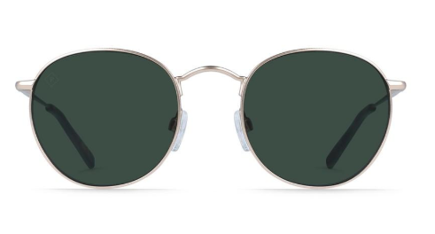 Benson - Brindle Tortoise/Green Polarized