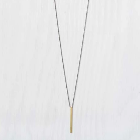 Brass Rod Necklace