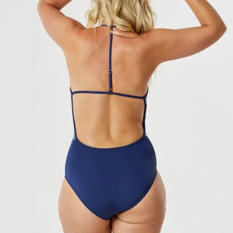 Waikiki One Piece - Bay Stripe