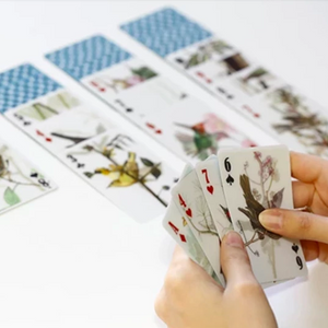 3D Bird Playing Cards
