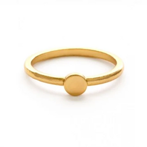 Gold Dot Ring