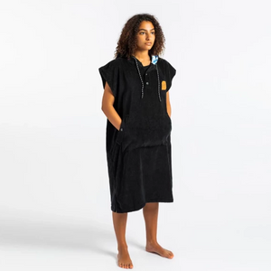 The Digs Changing Poncho - Black