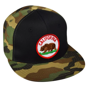 CA Bear Patch Hats