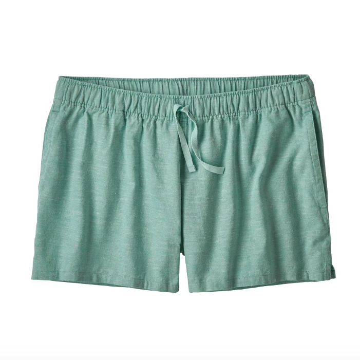 Women's Hemp Short - Atoll Blue