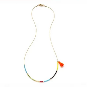 Japanese Seed Bead Necklace