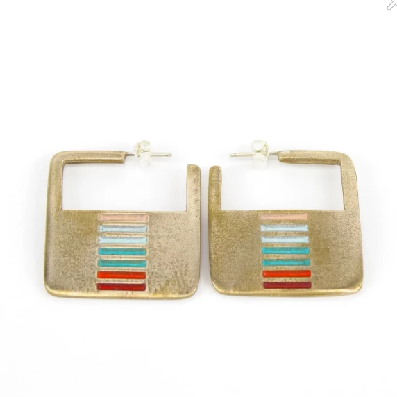 Dalarna Hoop Earrings in Mexico