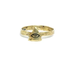 Itty All Seeing Eye Ring