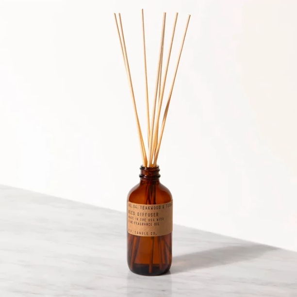Teakwood Tobacco Reed Diffuser