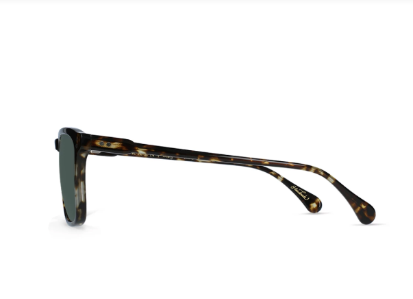 Wiley - Brindle Tortoise / Green Polarized