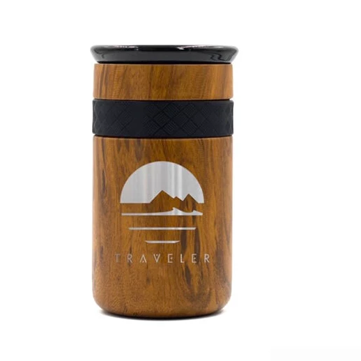 Traveler 12oz Tumbler w/ Ceramic Lid