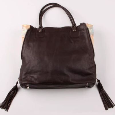 Bourgie Side Zip Satchel