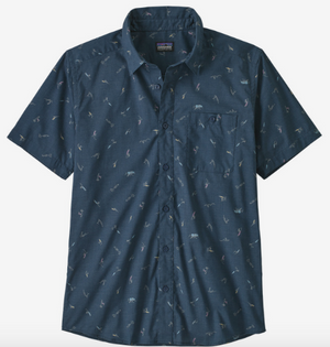 Men's Go To Shirt - Surfers Stone Blue