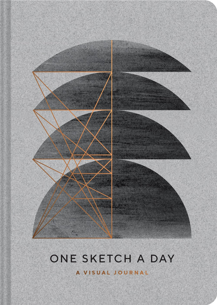 Modern One Sketch A Day Journal