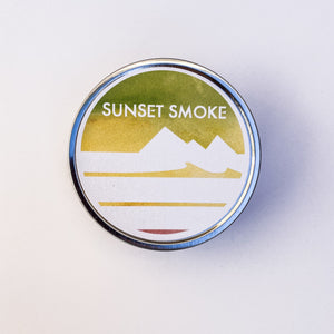 Sunset Smoke Candle