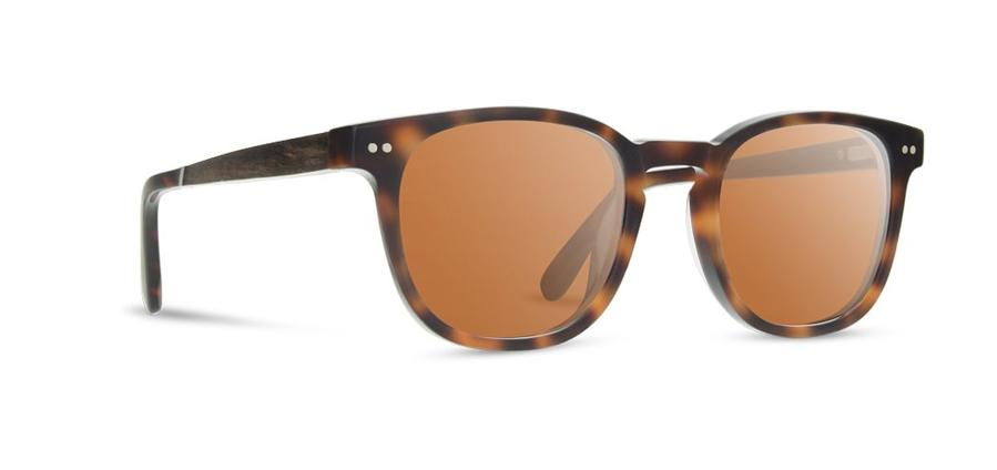 Trail Sunglasses - Matte Tortoise / Walnut