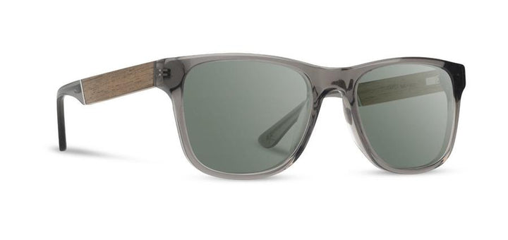 Trail Sunglasses - Fog / Walnut